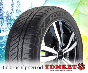 Celoroční pneu od TOMKET