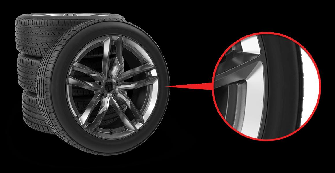 oprava bočnic pneu