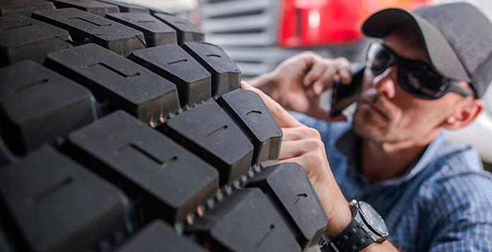 pneuservis pro nákladní vozy
