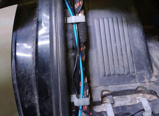 Tomket pneuservis - přídavné vzduchové pérování